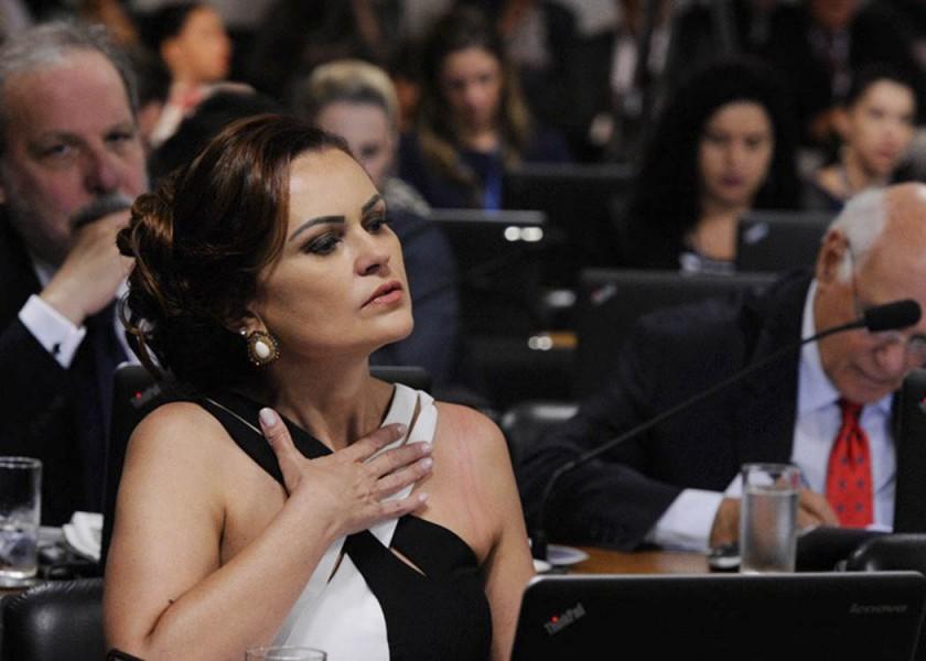 Rose Leonel es de Edilson Rodrigues/Ag. Senado