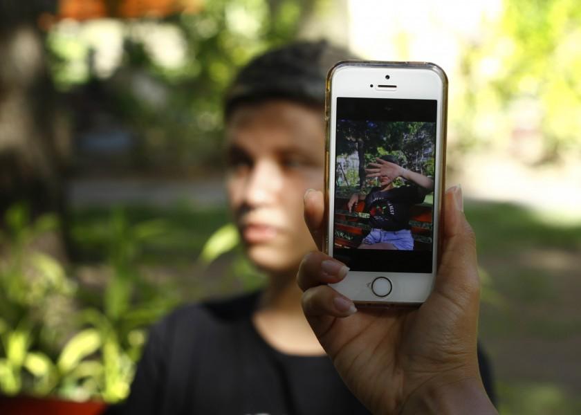 PE - RECIFE - 21/08/2018 - Local - Pauta: Luma Rodrigues, estudiante, sufrió violencia de genero online, donde tuvo fotos intimas divulgadas en internet por un hombre que la chantajeó.