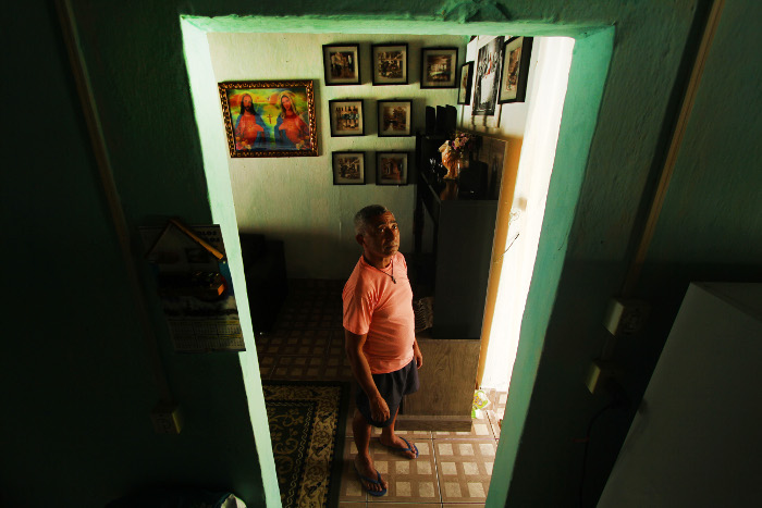 Peu Ricardo/DP - Joao Pedro Pessoa, trabalhador domestico.