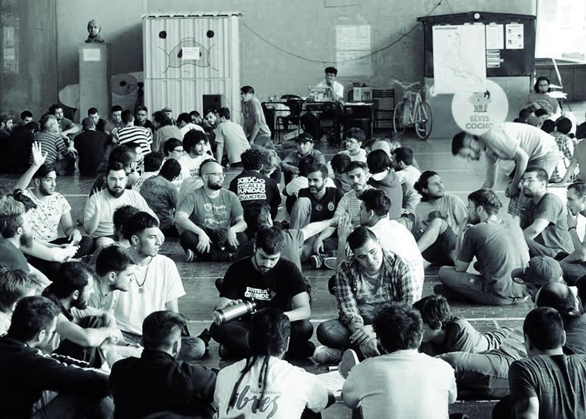 Encuentro de Varones Antipatriarcales Córdoba 2016.