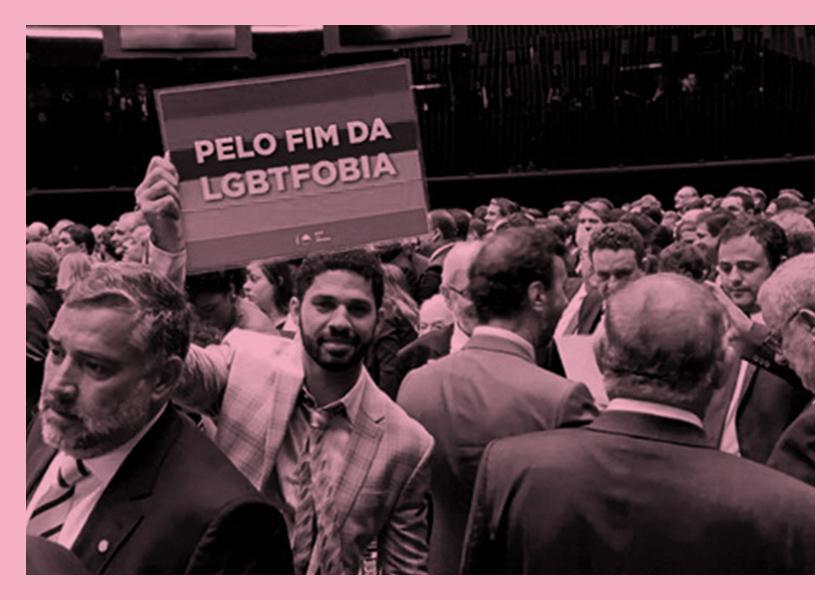 La difícil tarea de ser la voz LGBT en el Congreso  de Bolsonaro