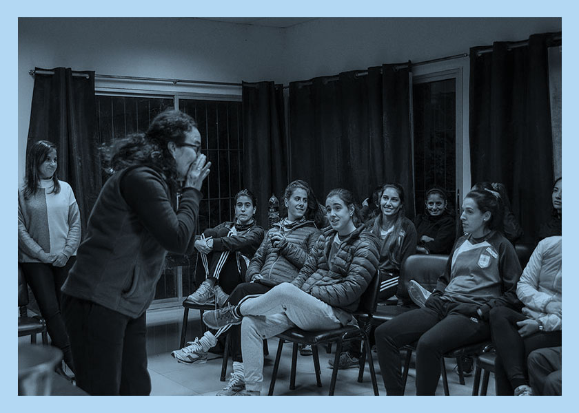 Uruguay va por la profesionalización del fútbol femenino