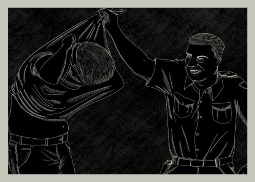 Así torturan los carabineros en Chile