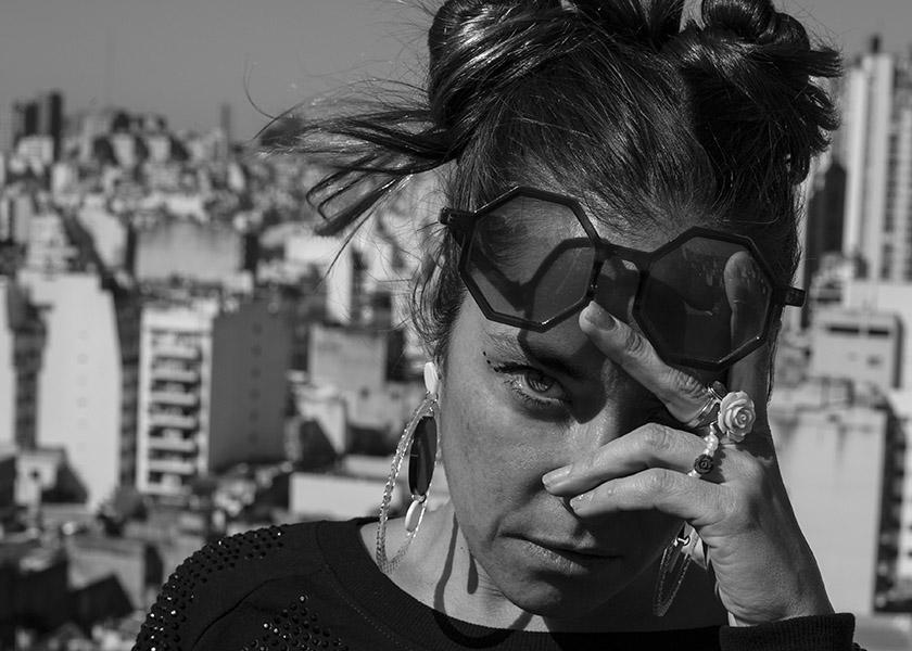 03-09-2019. Capital Federal. Entrevista a Sara Hebe por su disco Politicalpari