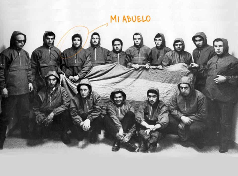 Mi abuelo robó un avión y ocupó las Malvinas