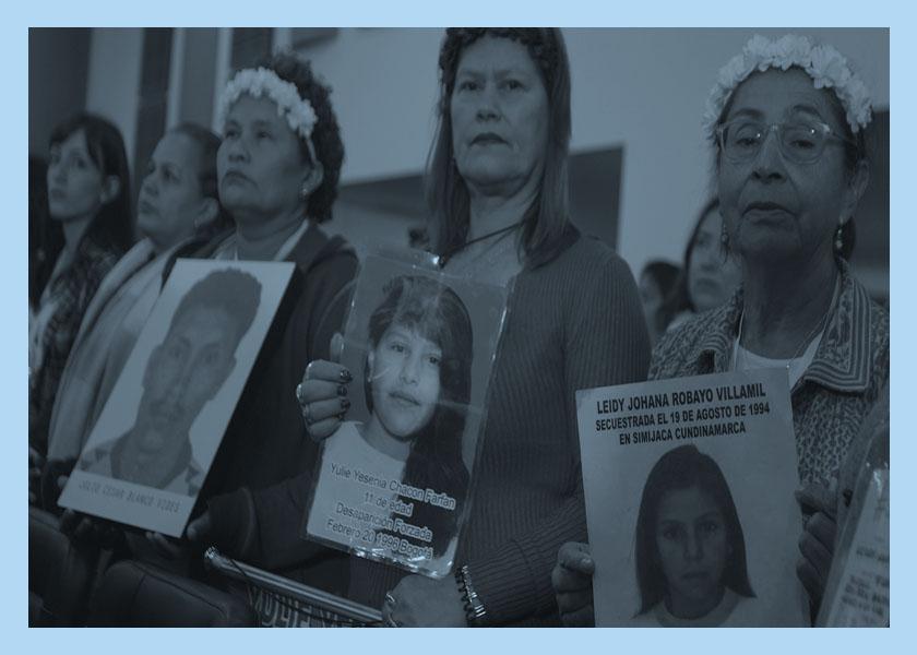 Cómo recordar a un desaparecido en Colombia