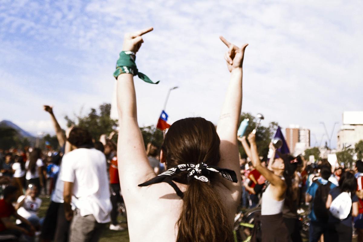 revuelta feminista -Foto Dani Zárate