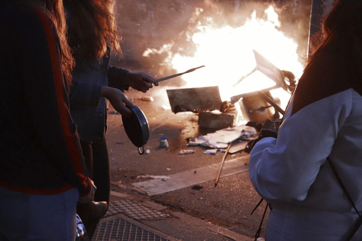 revuelta feminista en chile- foto dani zarate