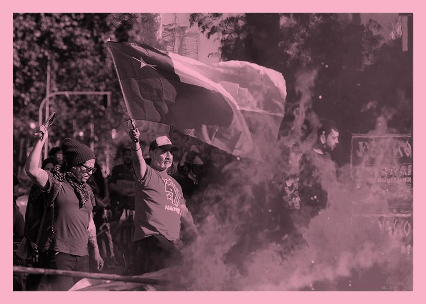 La Beca, un laboratorio para narrar la revuelta