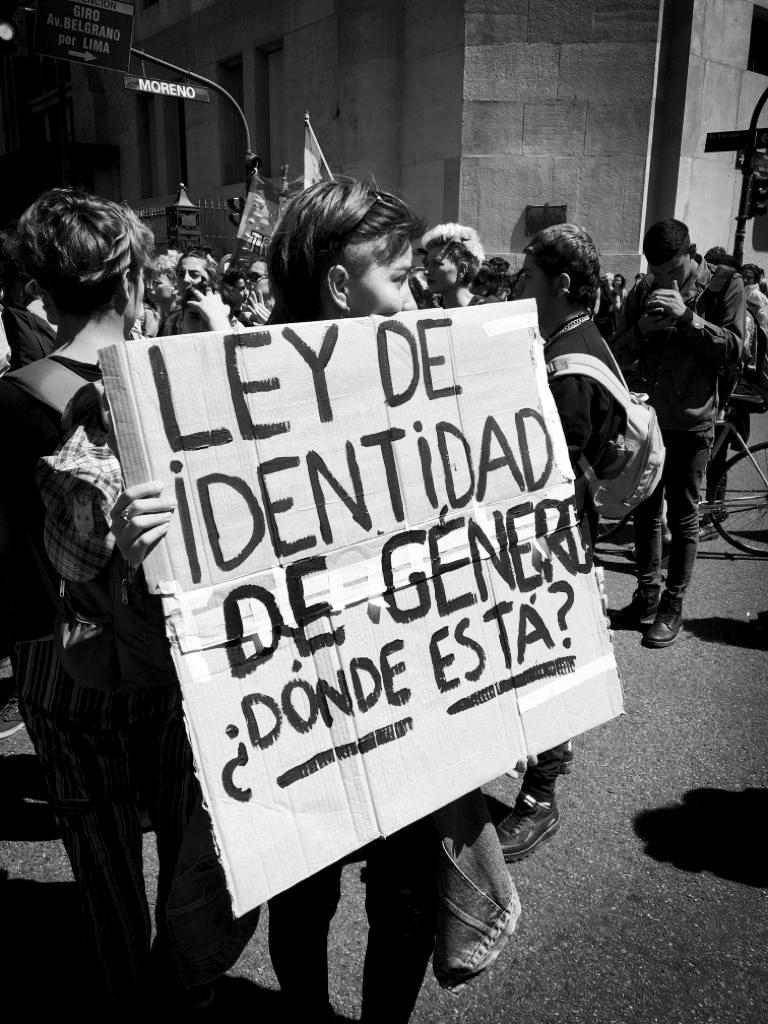 ley de identidad de género, donde está