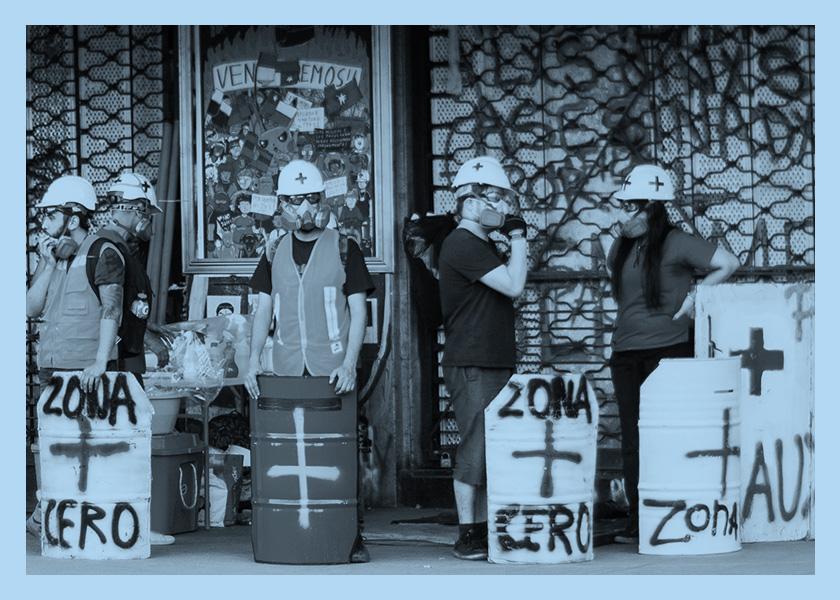 Chile: los voluntarios de la dignidad