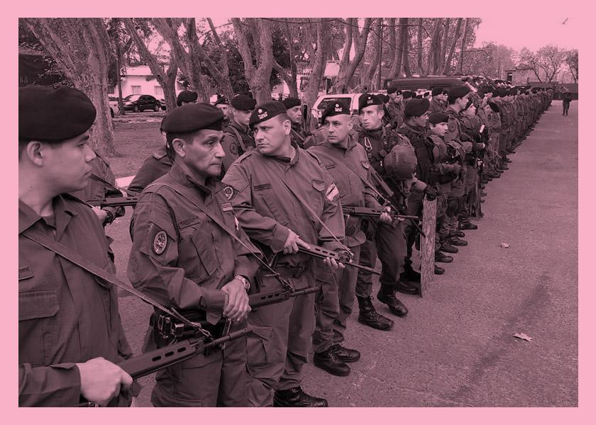 gendarmeria en rosario