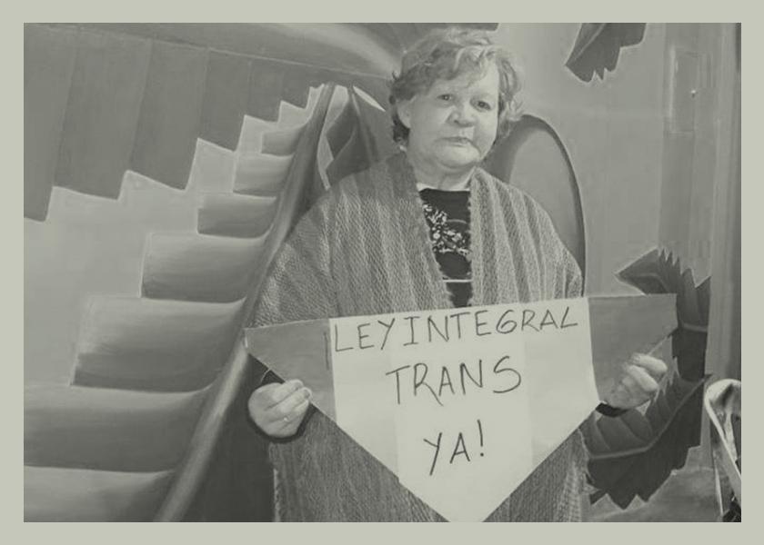 Hasta siempre a una luchadora por la salud de las personas trans