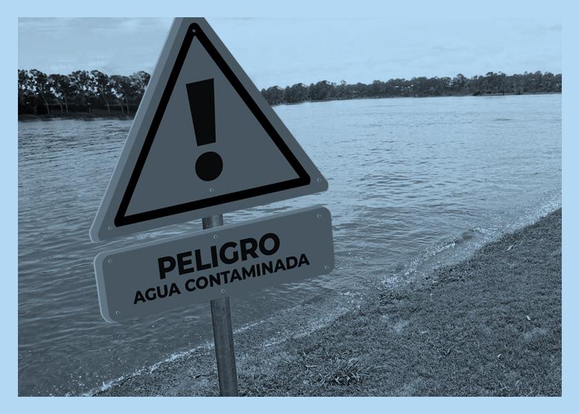 agua contaminada salta