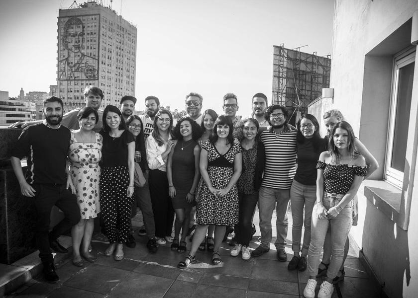 Beca Cosecha Roja: periodismo, arte y coronavirus