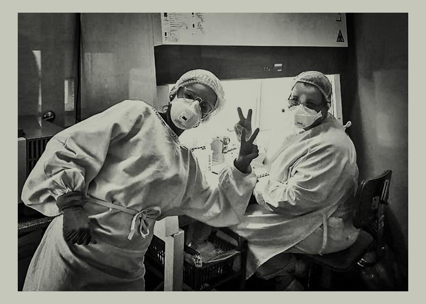Coronavirus: dale una mano a las mujeres del Malbrán