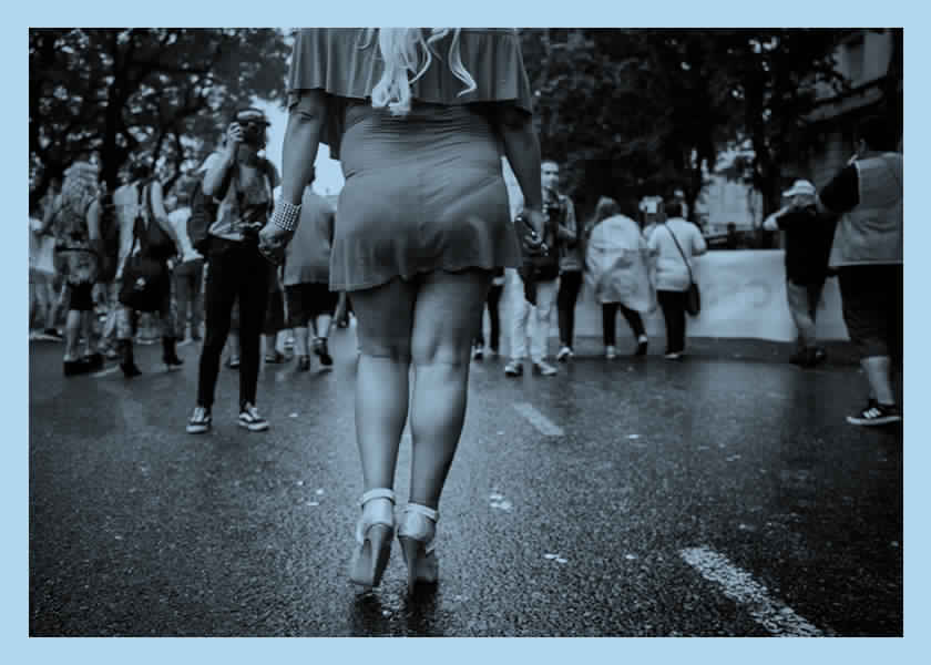 Coronavirus: carta al presidente de una activista travesti