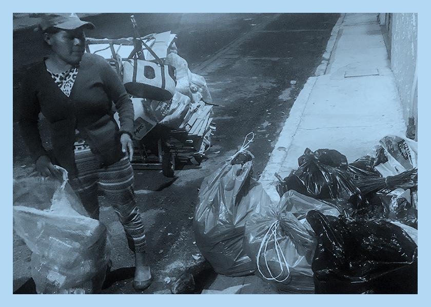 No hay cuarentena para las recicladoras de Puebla