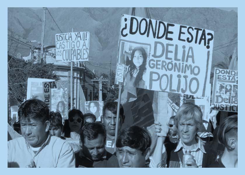 Veinte meses sin Delia Gerónimo Polijo