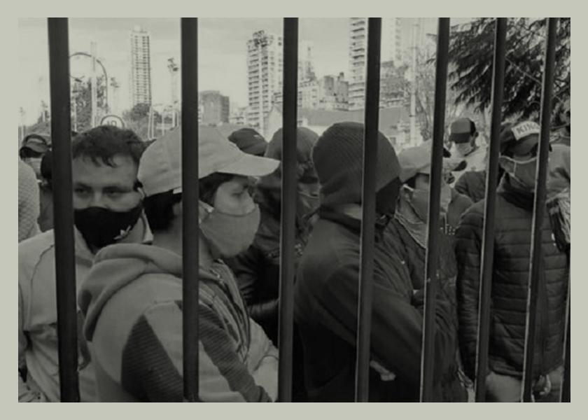 Tres meses encerrados en el Hipódromo de Palermo