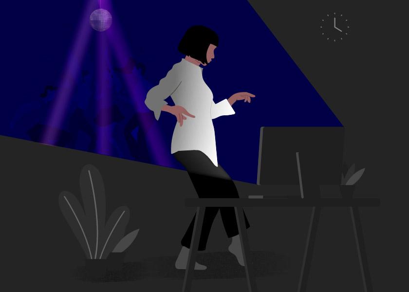 La noche virtual: tan lejos y tan cerca