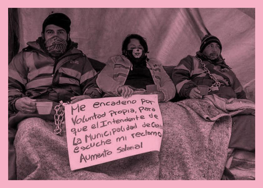 Represión en Mendoza: cadenazos, palos y vejámenes