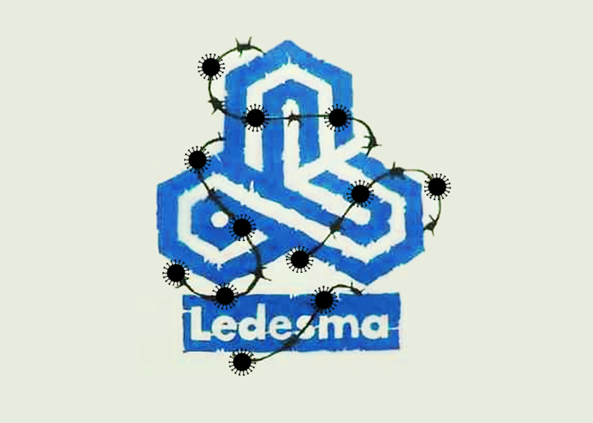 Así se contagian de COVID-19 los trabajadores de Ledesma