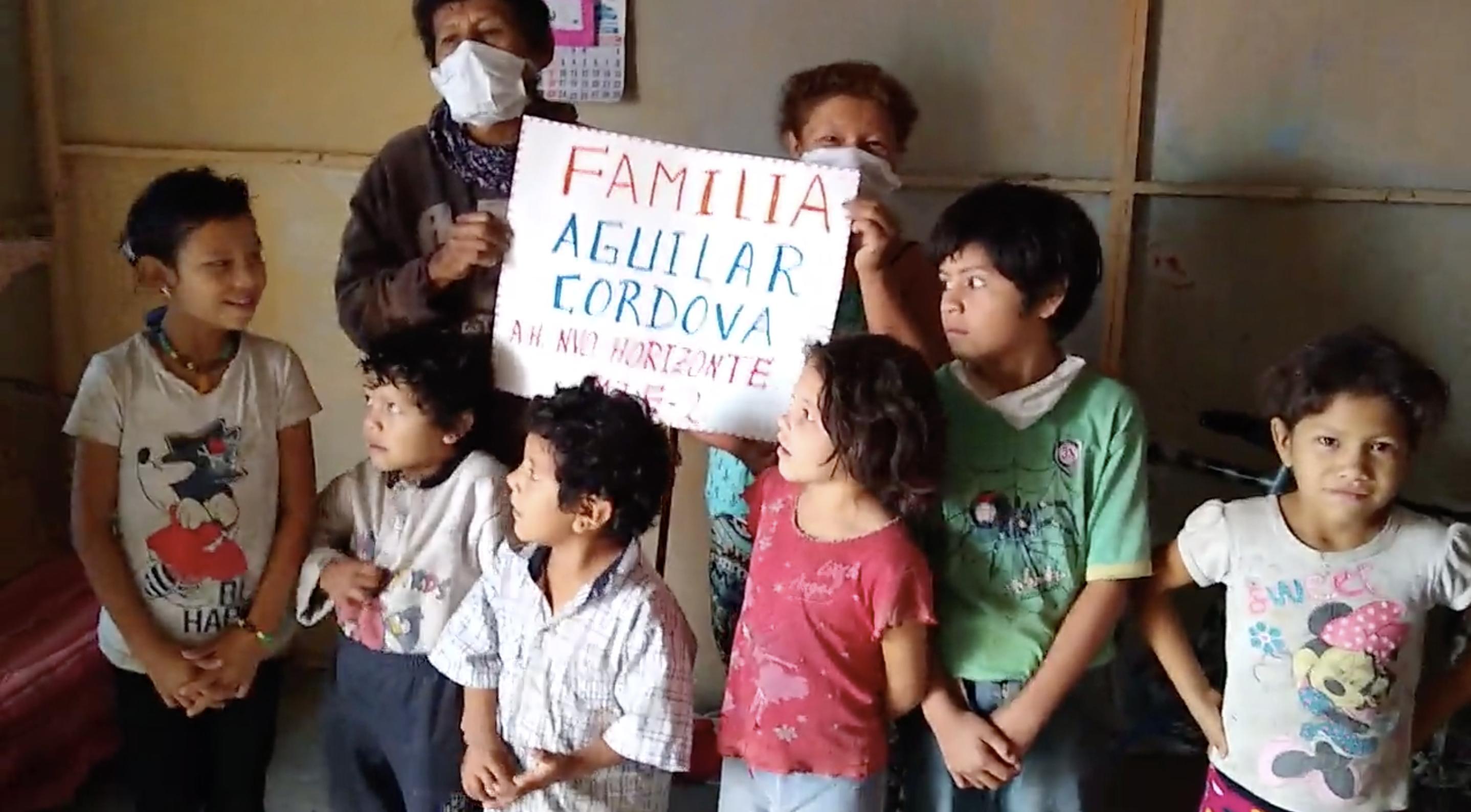 Familia Aguilar Cordova