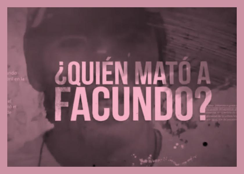 """""""¿Quién mató a Facundo?"""", la serie documental que sigue el caso en tiempo real"""