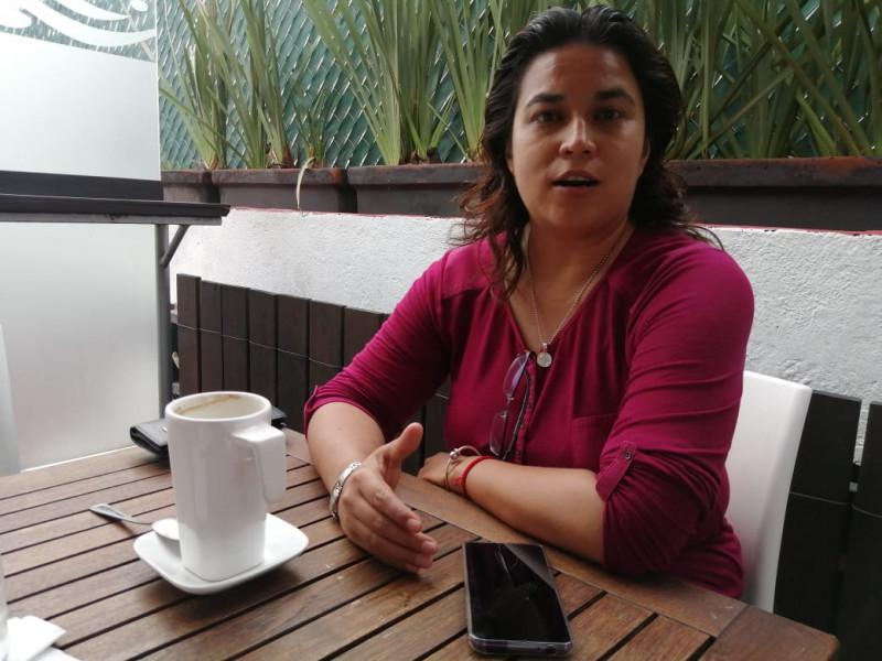Cesedi Morelos'ta PGR tarafından terk edilmiş olarak bulan avukat Monserrat Castañeda Delgado.  Kredi: Carlos Quintero.