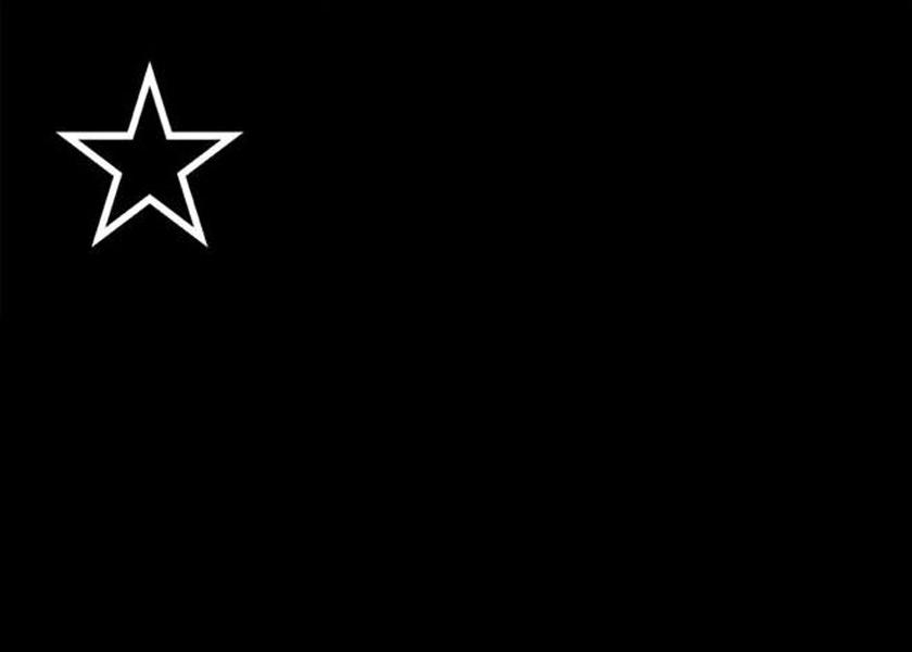 Cuando la bandera chilena se tiñó de negro