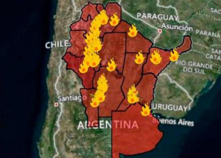 Foto: Servicio Nacional de Manejo del Fuego