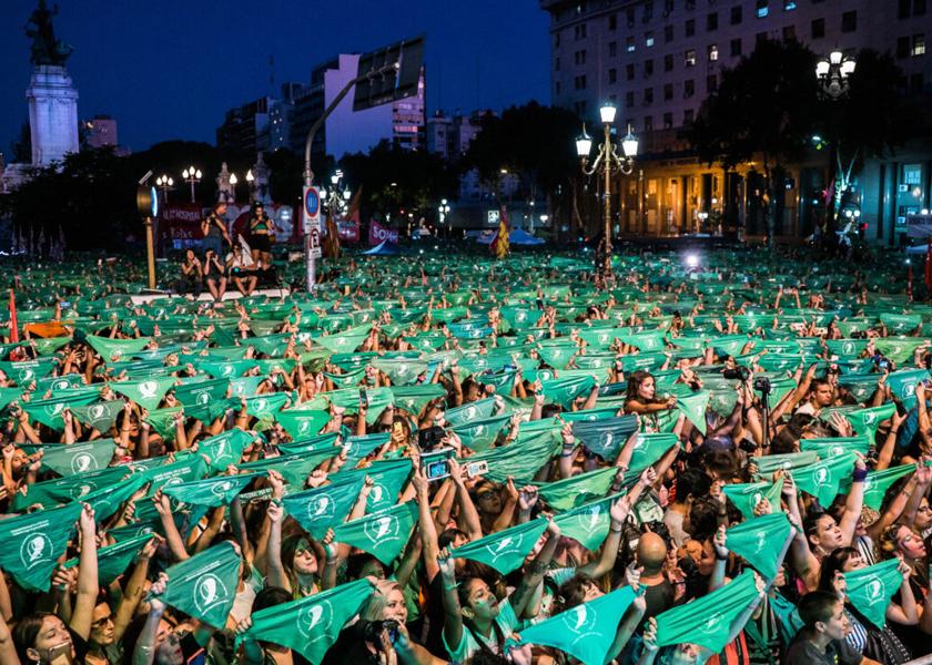 Foto: Campaña Nacional por el Derecho al Aborto