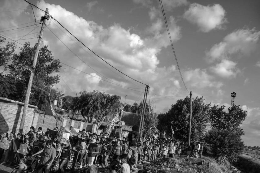 En 2011 fue la primera marcha multitudinaria para pedir justicia.