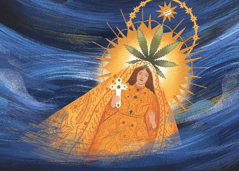 La Virgen y la María entran por el mar