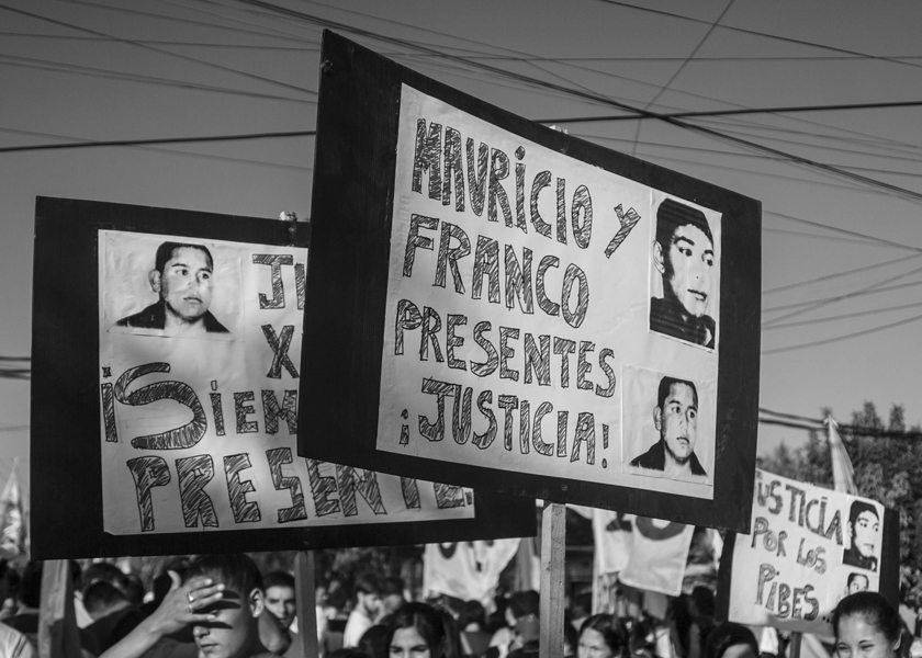 Fotoreportaje: a 10 años de la Masacre de la Carcova