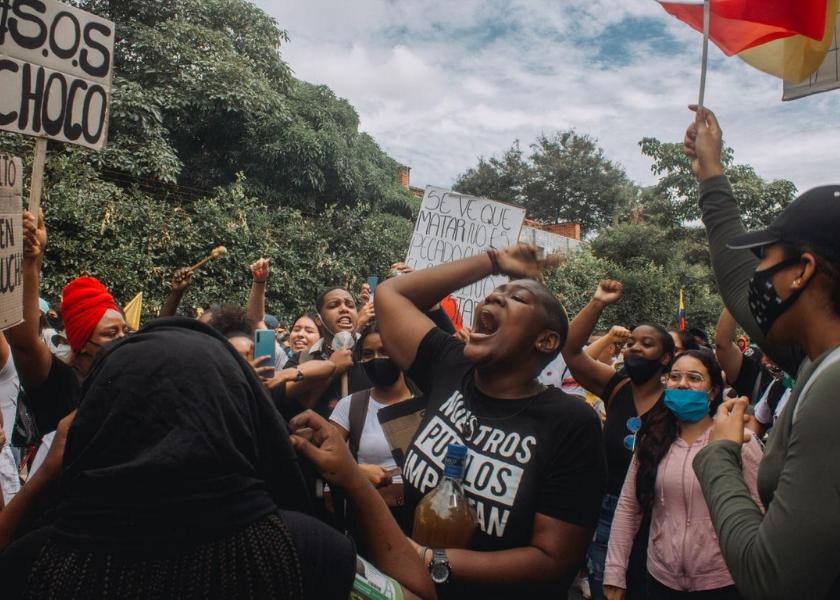 Colombia resiste: el pueblo para y el gobierno dispara