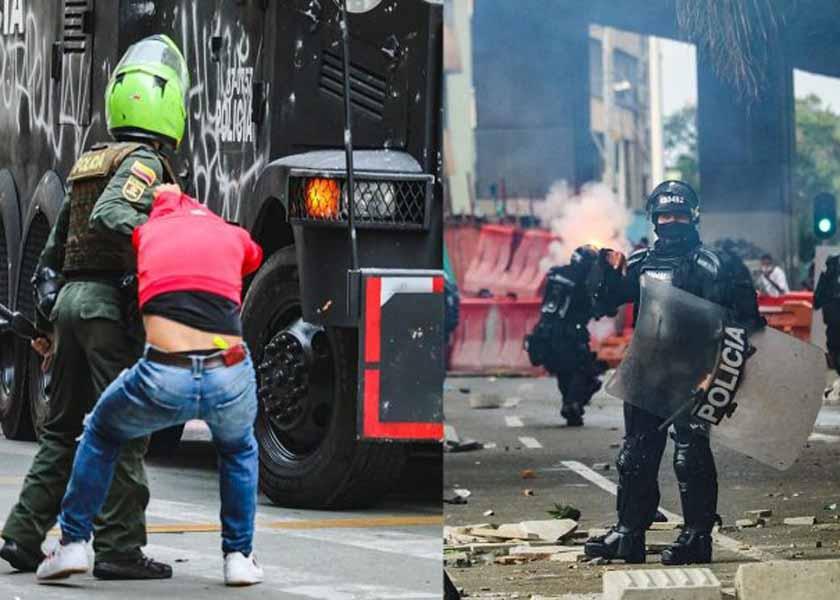 En Colombia la policía detiene, abusa, tortura y desaparece
