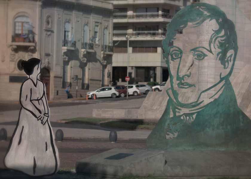 Quién fue Catalina, la mujer que cosió la bandera de Belgrano
