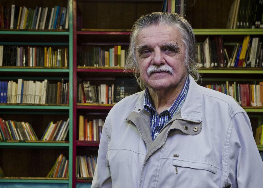 Horacio González, el profesor que daba cátedra en el aula, el bar y el bondi