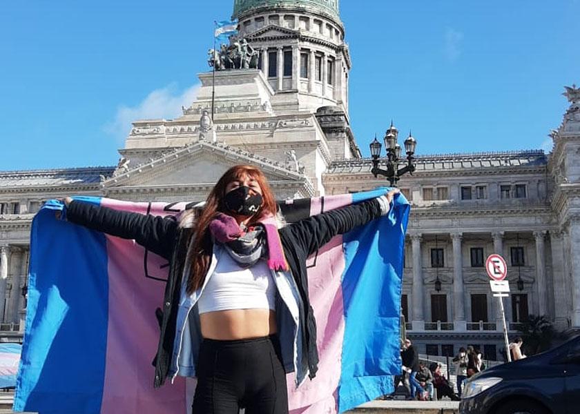 La cobertura de mi vida: de Santa Fe al Congreso por el cupo laboral trans