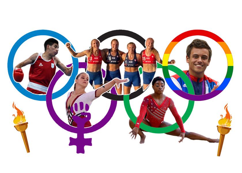 Juegos Olímpicos: feminismo, orgullo, salud mental y profesionalización para todes