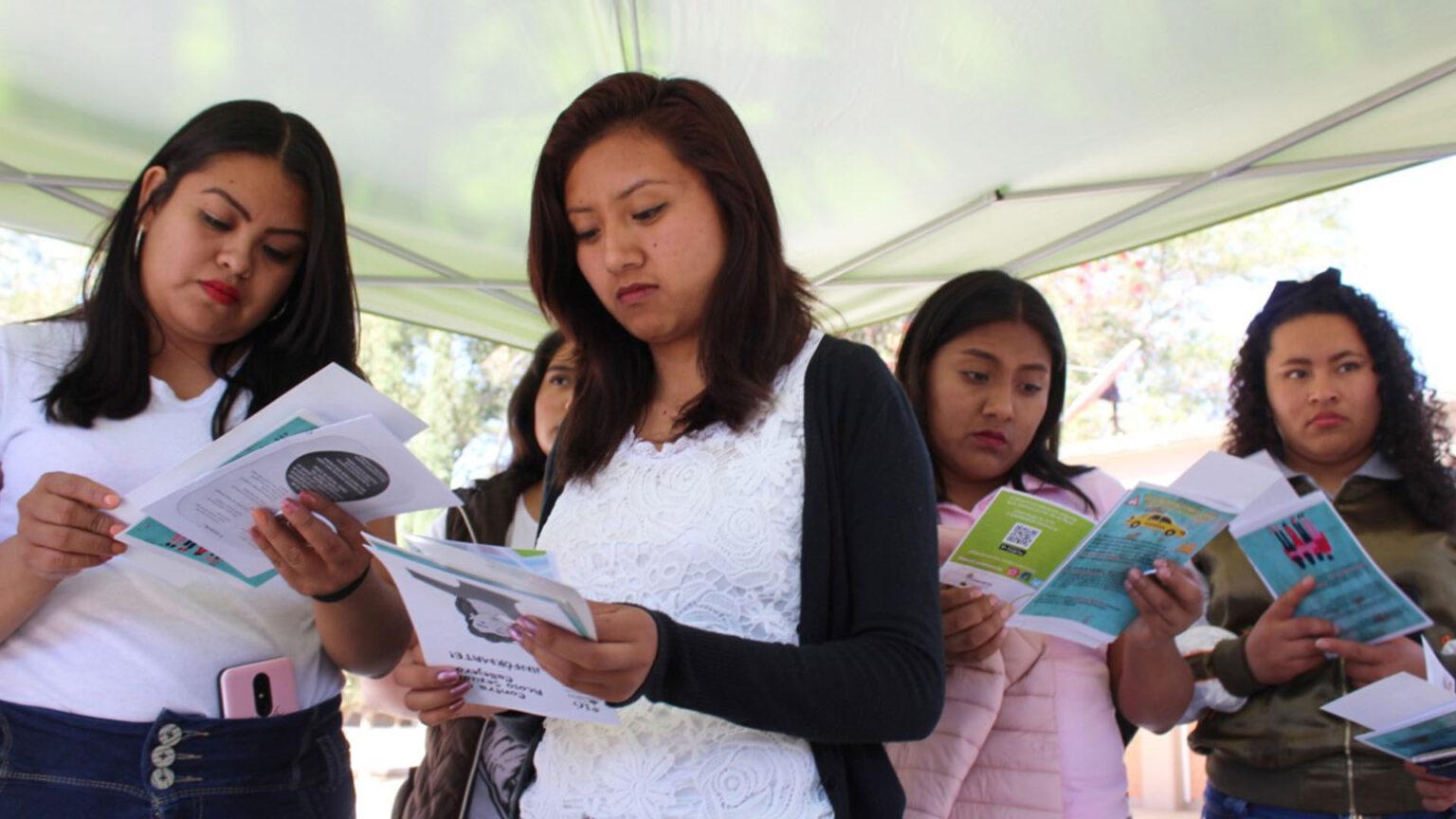 Feministas se unen para hacer de Oaxaca una ciudad segura
